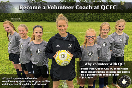 Queen City FC Launches QC Volunteer Coach Program