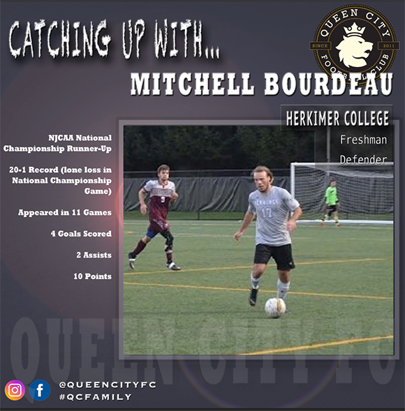 Catching Up With...Mitchell Bourdeau